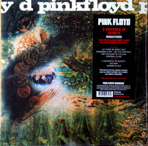 PINK FLOYD – A SAUCERFUL OF SECRETS (LP)