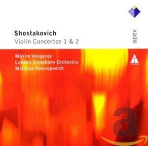 VENGEROV, MAXIM – VIOLIN CTO. NOS 1&2 (CD)