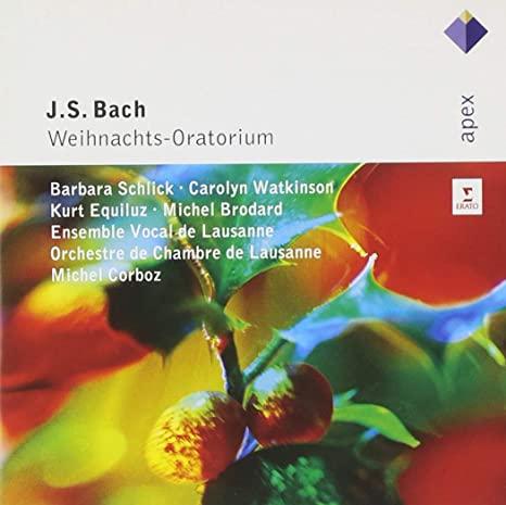 BACH, J.S.  WEIHNACHTS-ORATORIUM (2-CD) WA.CL 256 4686217 –  (CD)