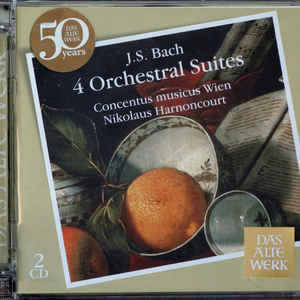 BACH, J.S. – 4 ORCHESTRAL SUITES (2xCD)