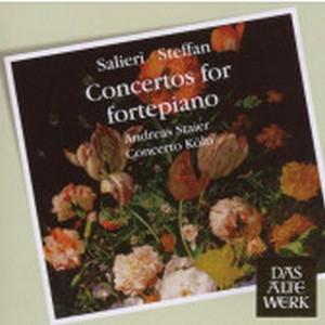 SALIERI, A. & STEFFAN, J.A. – CONCERTOS FOR FORTEPIANO (CD)