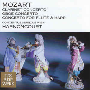 MOZART, W.A. – CONCERTO FOR CLARINET, OB (CD)