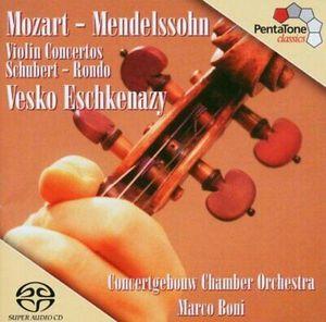 MOZART/SCHUBERT/MENDELSSO – VIOLIN CONCERTO NO.5-SACD (CD)