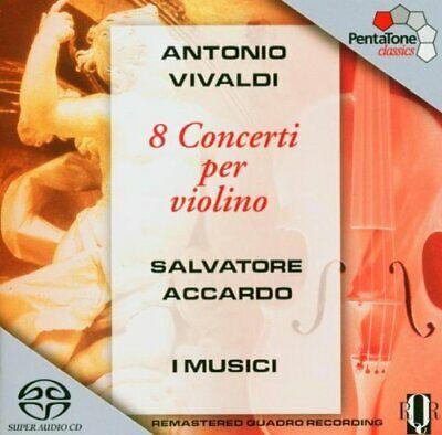 VIVALDI, A. – 8 CONCERTI PER VIOLINO OP (CD)