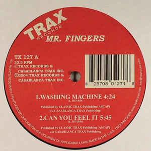 MR. FINGERS – WASHING MACHINE (12in)
