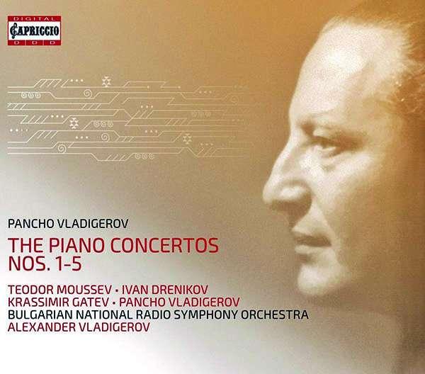 VLADIGEROV, PANCHO – PIANO CONCERTOS NOS.1-5 (3xCD)