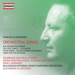 VLADIGEROV, P. – ORCHESTRAL SONGS (2xCD)