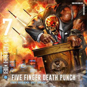 FIVE FINGER DEATH PUNCH – AND JUSTICE FOR NONE (CD)