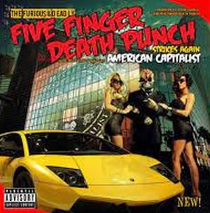 FIVE FINGER DEATH PUNCH – AMERICAN CAPITALIST (LP)