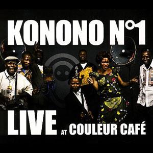 KONONO NO.1 – LIVE AT COULEUR CAFE (CD)