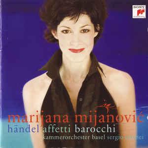 HANDEL AFFETTI BAROCCHI MIJANOVIC CD –  (CD)