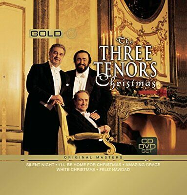 VARIOUS ARTISTS – THE 3 TENORS CHRISTMAS (+DVD) (2xCD)