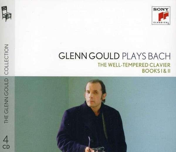 GOULD, GLENN – GLENN GOULD PLAYS BACH: THE WELL-TEMPERE (4xCD)