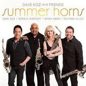 KOZ,DAVE AND FRIENDS – SUMMER HORNS (CD)