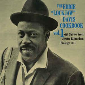 """EDDIE """"LOCKJAW"""" DAVIS COOKBOOK – WITH SHIRLEY SCOTT/JEROME RICHARDSON (LP)"""