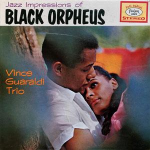 GUARALDI, VINCE -TRIO- – JAZZ IMPRESSIONS OF BLACK ORPHEUS (LP)