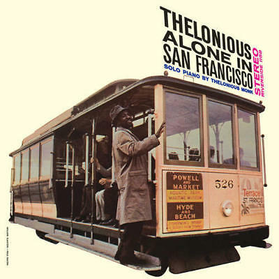 THELONIOUS MONK – THELONIOUS ALONE IN SAN FRANCISCO (LP)