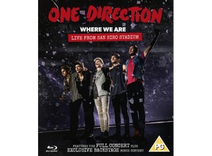 ONE DIRECTION WHERE WE ARE BLU-RAY –  (BLRY)