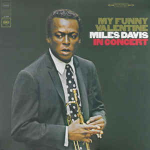 DAVIS, MILES – MY FUNNY VALENTINE (LP)