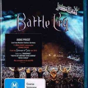 JUDAS PRIEST – BATTLE CRY (Blu-Ray)