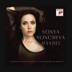YONCHEVA, SONYA – HANDEL (CD)