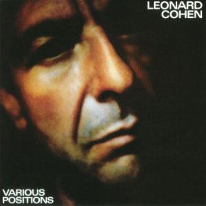 COHEN, LEONARD – VARIOUS POSITIONS (LP)