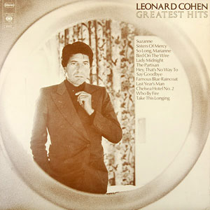 COHEN, LEONARD – GREATEST HITS (LP)