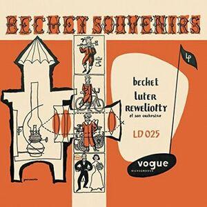 BECHET, SYDNEY, LUTER, CLAUDE, – BECHET SOUVENIR (LP)