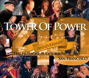 TOWER OF POWER – 40TH ANNIVERSARY (2xCD/DVD)