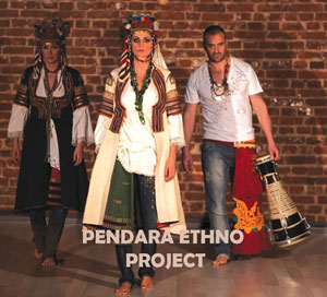 КАЛИН ВЕЛЬОВ/ НИНА НИКОЛИНА – PENDARA ETHNO PROJECT  (CD)