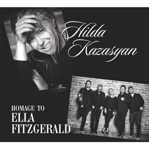 HILDA KAZASYAN/ХИЛДА КАЗАСЯН – HOMAGE TO ELLA FITZGERALD (CD)