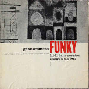 GENE AMMONS – FUNKY (LP)