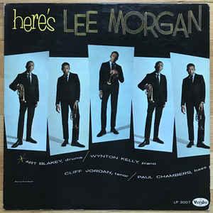 LEE MORGAN – HERE'S LEE MORGAN (180 GRAM) (LP)