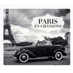 VARIOUS ARTISTS – PARIS EN CHANSONS (4xCD)