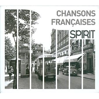 VARIOUS ARTISTS – SPIRIT OF CHANSONS FRANCAISES (4xCD)