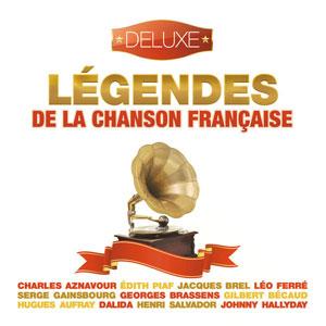 VARIOUS ARTISTS – LEGENDES DE LA CHANSON FRANCAIS – DELUXE (CD)