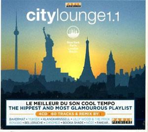 VARIOUS ARTISTS – CITY LOUNGE VOL.11 4CD WAGRA3289072 (4xCD)