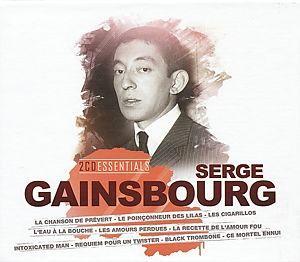 GAINSBOURG, SERGE – ESSENTIALS-GAINSBOUR (2xCD)