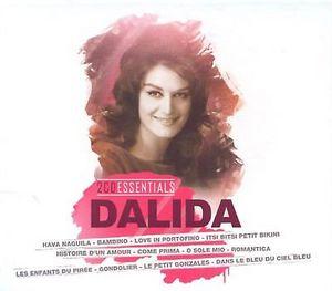 DALIDA – ESSENTIALS – DALIDA (2xCD)