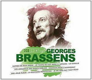 BRASSENS, GEORGES – ESSENTIALS-BRASSENS (2xCD)