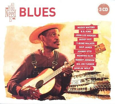 V/A – ALL YOU NEED IS BLUES (3xCD)