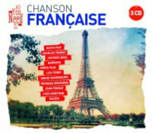 VARIOUS ARTISTS – ALL YOU NEED IS CHANSON FRANCAISE (3xCD)
