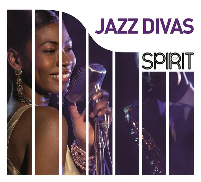 VARIOUS ARTISTS – SPIRIT OF JAZZ DIVAS 4CD WAGRAM –  (CD)
