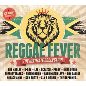 VARIOUS ARTISTS – REGGAE FEVER – THE ULTIMATE COLLECTION 5-CD (5xCD)