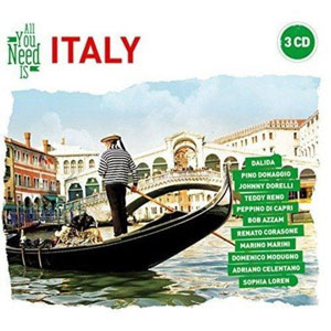 VARIOUS ARTISTS – ALL YOU-ITALY (3xCD)