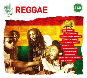 VARIOUS ARTISTS – ALL YOU NEED IS … REGGAE (3xCD)