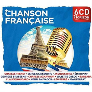 VARIOUS ARTISTS – CHANSON FRANCAISE (6xCD)