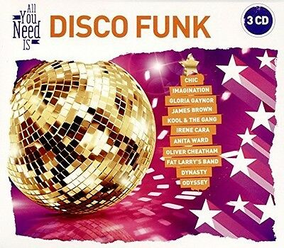 VARIOUS ARTISTS – ALL YOU-DISCO FUNK (3xCD)