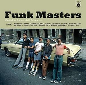 VARIOUS ARTISTS – FUNK MASTERS (LP)