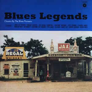 VARIOUS ARTISTS – BLUES LEGENDS (LP)